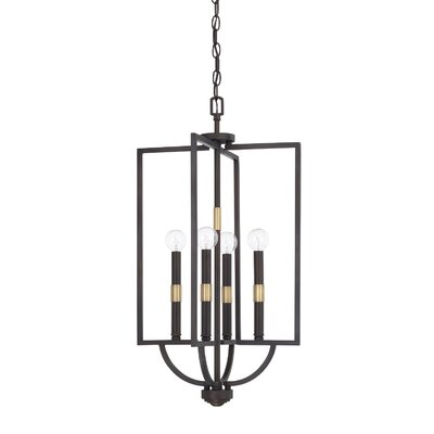 Jamil 4-Light Foyer Pendant
