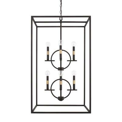 Jamil 8-Light Foyer Pendant