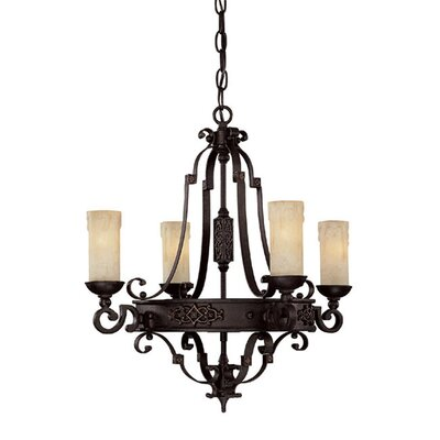 Byrd 4-Light Candle-Style Chandelier