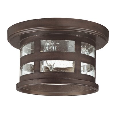 Luiz Flush Mount Bulb Type: Incandescent