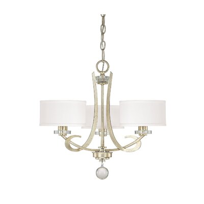 Brownesville 3-Light Drum Chandelier