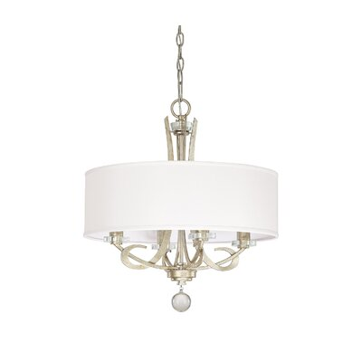 Brownesville 4-Light Drum Chandelier