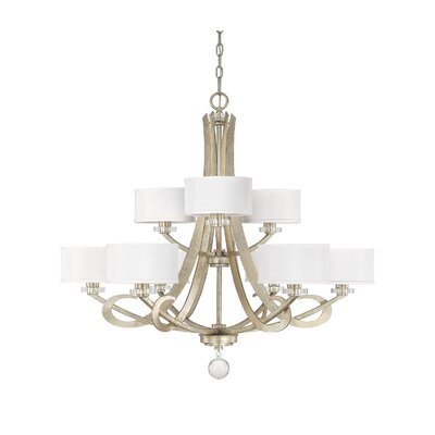 Hutton 9-Light Drum Chandelier