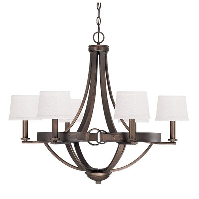 Chastain 6-Light Shaded Chandelier