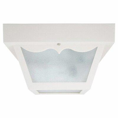Mackey 2-Light Flush Mount Finish: White