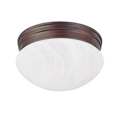 Lurganville 1-Light Flush Mount