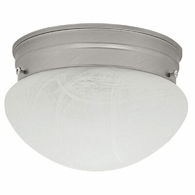 Maddocks 2-Light Flush Mount Finish: Matte Nickel