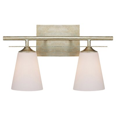 Soho 2-Light Vanity Light Finish: Winter Gold