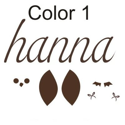 Personalized Hanna
