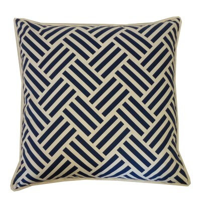Trible Cotton Throw Pillow