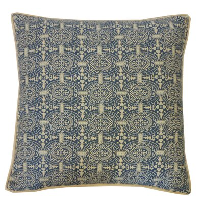Stamps Cotton Throw Pillow
