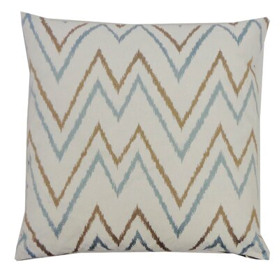 Sierra Cotton Throw Pillow Color: Aqua