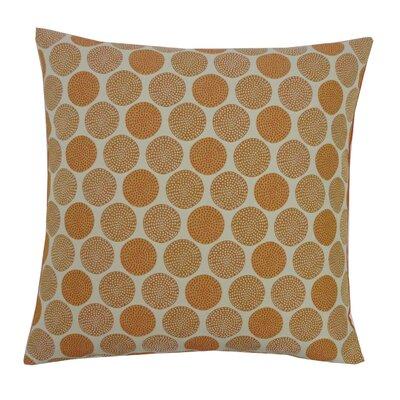 Radius Cotton Throw Pillow Color: Orange