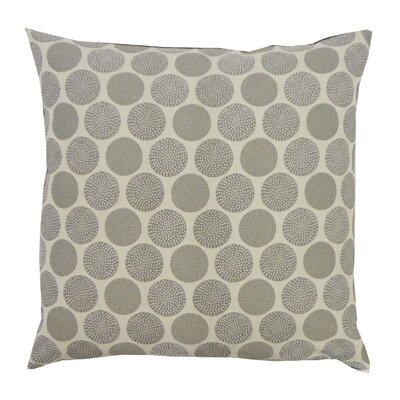 Radius Cotton Throw Pillow Color: Grey