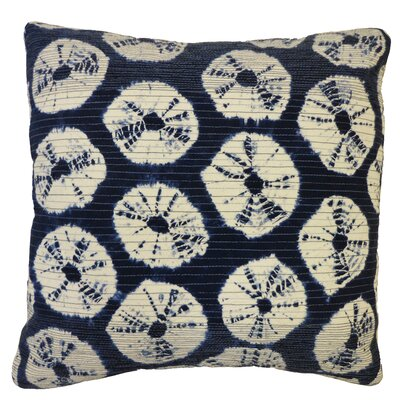 Bright & Fresh Japan Rings Cotton Throw Pillow