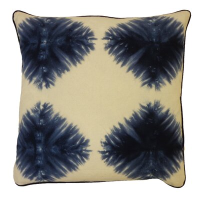 Bright and Fresh Die Kites Cotton Throw Pillow