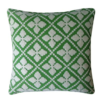 Bright and Fresh Sandollar Cotton Throw Pillow