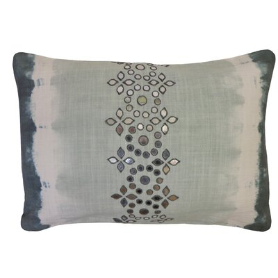 Bright and Fresh Sheesha Cotton Lumbar Pillow Color: Citron
