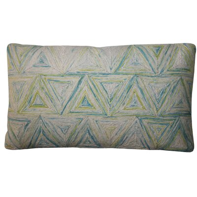 Bright and Fresh Trapezoid Cotton Lumbar Pillow