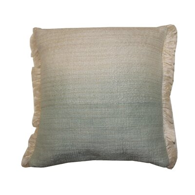 Bright and Fresh Nomad Cotton Throw Pillow Color: Celadon