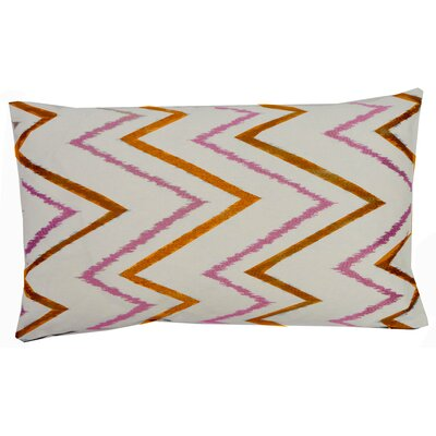 Sierra Cotton Lumbar Pillow Color: Orange