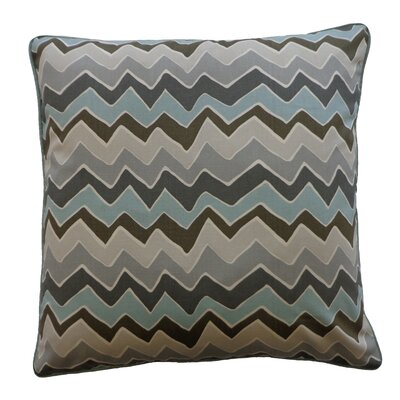 Serpentine Cotton Throw Pillow