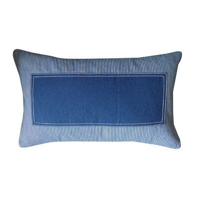 Window Stripe Lumbar Pillow