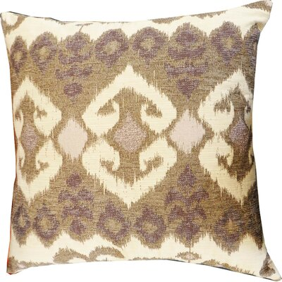 The Eye Cotton Throw Pillow Color: Lavender