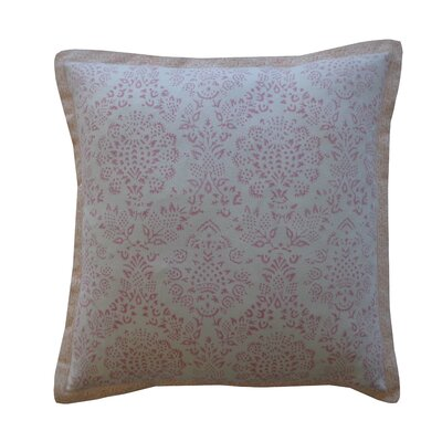 Zazzel Cotton Throw Pillow