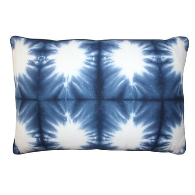 Cacoon Indigo Cotton Lumbar Pillow