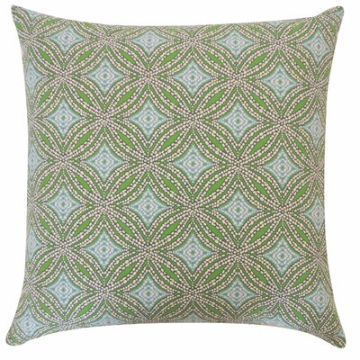Turtle Pebble Cotton Throw Pillow Color: Blue
