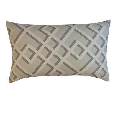 Flex Cotton Lumbar Pillow Color: Grey