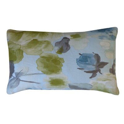 Mandolin Cotton Lumbar Pillow Color: Lime