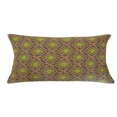 Turtle Pebble Cotton Lumbar Pillow Color: Green