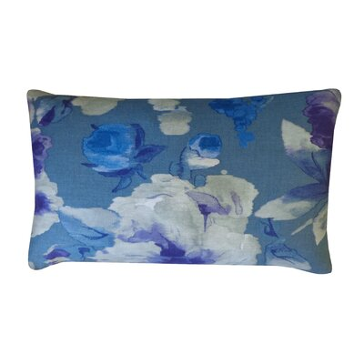 Mandolin Cotton Lumbar Pillow Color: Purple