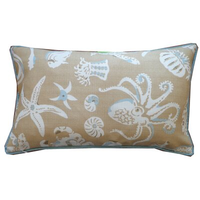 Marine Cotton Lumbar Pillow