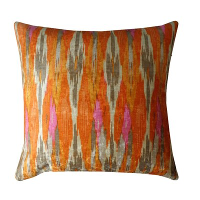 Tiger Eye Cotton Throw Pillow