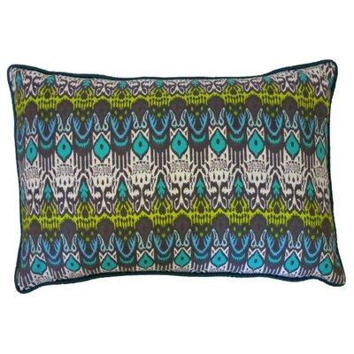 Seoux Cotton Lumbar Pillow Color: Esm