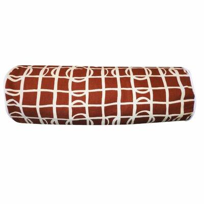 Planet Cotton Bolster Pillow Color: Brown