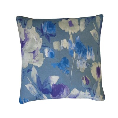 Mandolin Cotton Throw Pillow Color: Purple