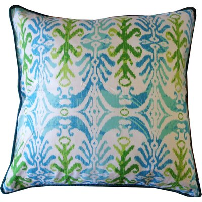Mud Cotton Throw Pillow Color: Esm