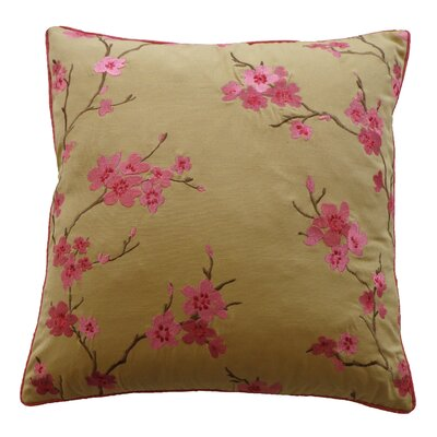 China Cotton Throw Pillow Color: Pink