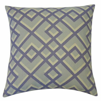 Flex Cotton Throw Pillow Color: Blue