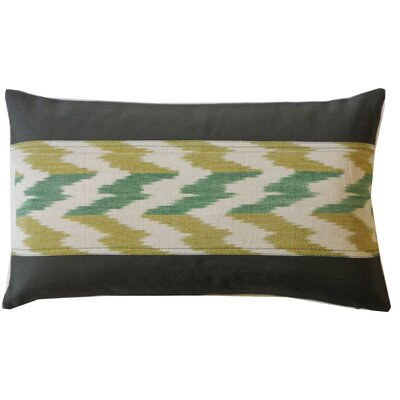 Hilo Ikat Cotton Lumbar Pillow