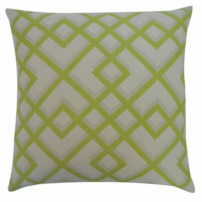 Flex Cotton Throw Pillow Color: Lime