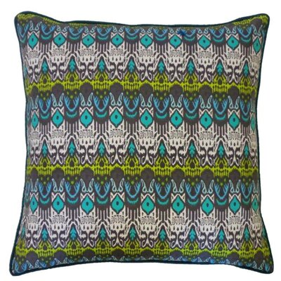Seoux Cotton Throw Pillow Color: Esm