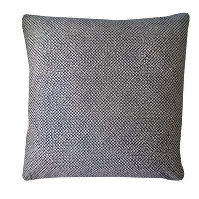 Kioto Eye Cotton Throw Pillow Color: Blue