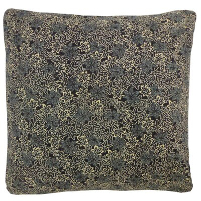 Kioto Flower Cotton Throw Pillow