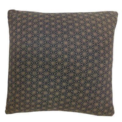 Kioto Star Cotton Throw Pillow
