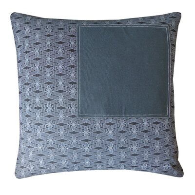 Window Smoke Cotton Throw Pillow
